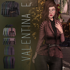 NEW!  Valentina E. Yvette Ensemble @ Pocket Gacha!