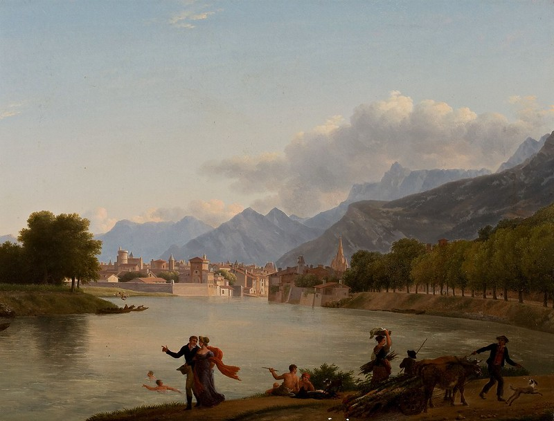 Jean-Joseph-Xavier Bidauld - Grenoble (c.1790)