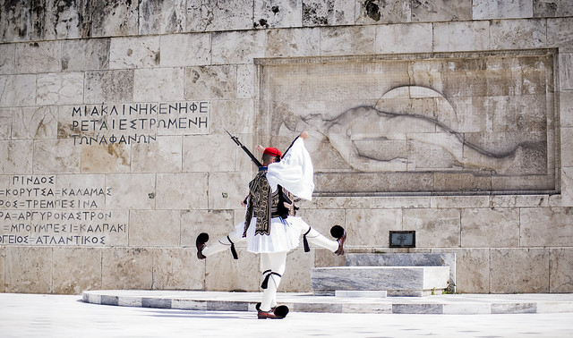 Greek Presidential Guards, Nikon D800, AF Zoom-Nikkor 70-210mm f/4