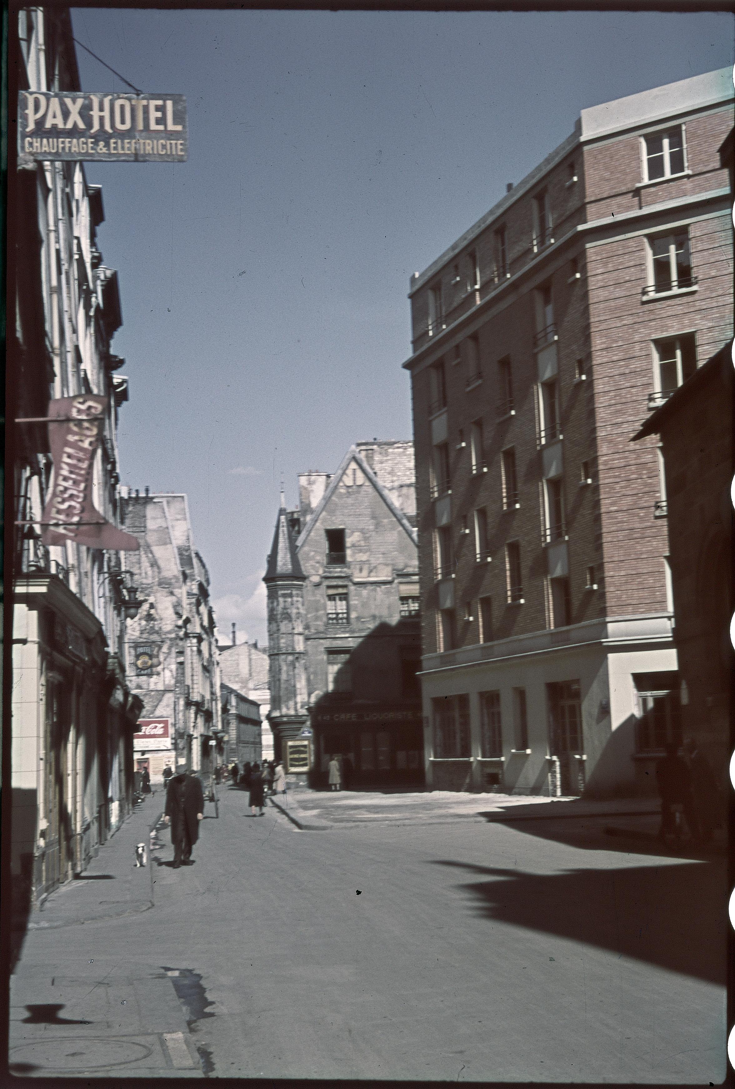 Улица Вьей-дю-Тампль