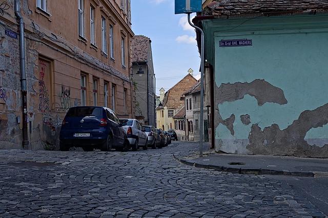 Sibiu Die Gassen der, Canon EOS 200D, Canon EF-S 24mm f/2.8 STM
