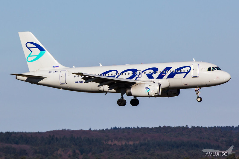Adria Airways - A319 - S5-AAP (1)