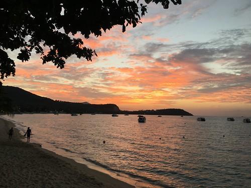サンセット サムイ島