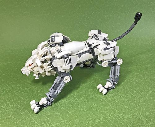 LEGO Mech Lion ver2-09