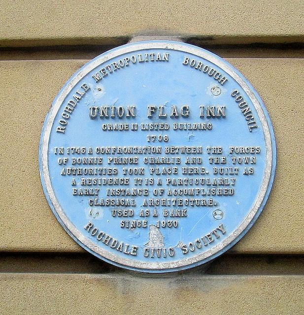 Union Flag Inn as was, Rochdale