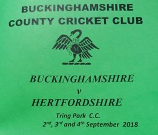 Bucks CCC v Herts CCC