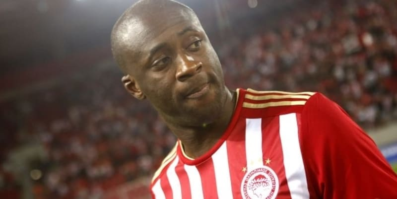 Yaya Toure mendapat sambutan heroik di Olympiakos