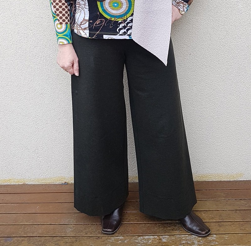Wendy Ward Derwent trousers in ponte from The Cloth Shop Ivanhoe
