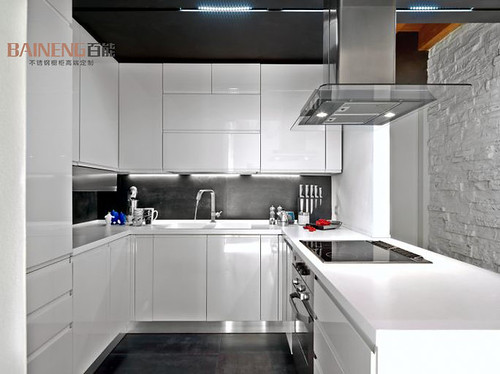 Lacquer painting mdf series kitchen cabinet door