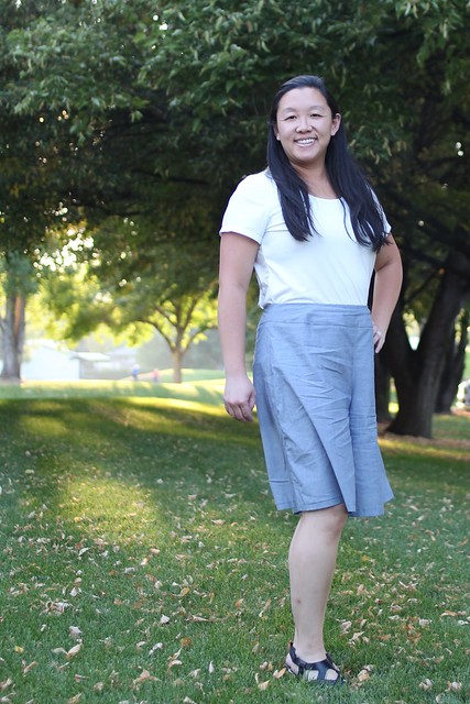 Itch to Stitch Emily Culottes and Lisbon Cardi by replicate then deviate