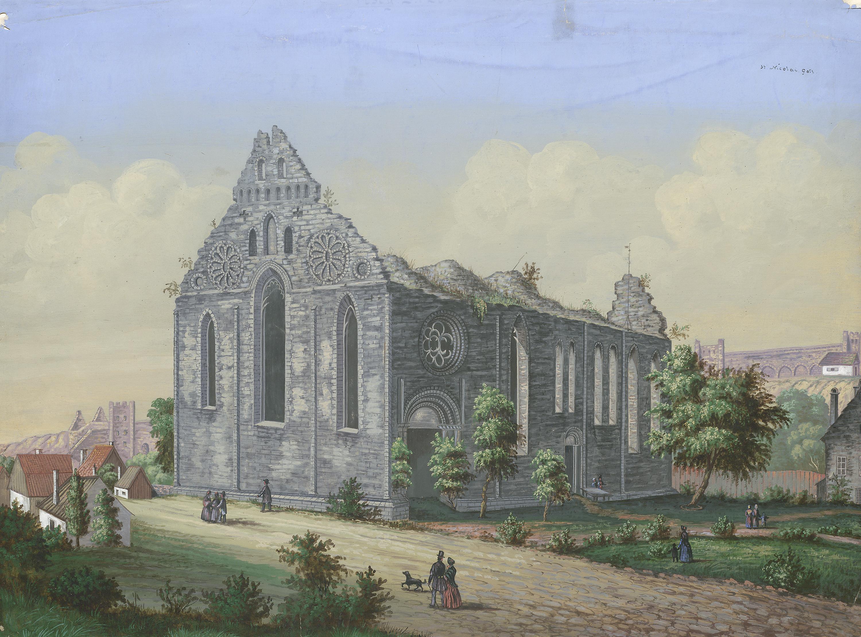 St. Nicolai medieval church ruin, Visby, Gotland, Sweden