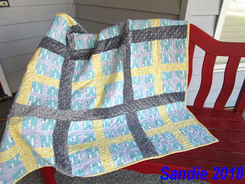 Sandie's Addition Quilt