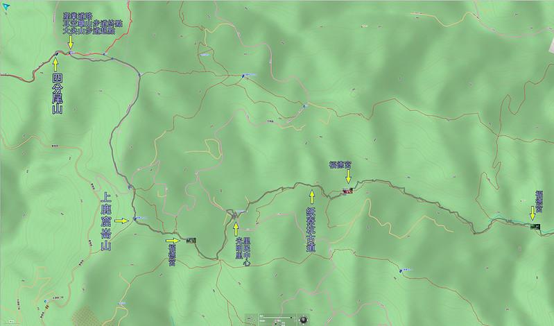 022、標示軌跡三:紙寮坑古道-上鹿窟崙山