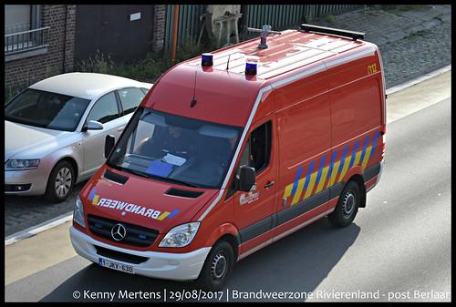 Brandweerzone Rivierenland - post Berlaar