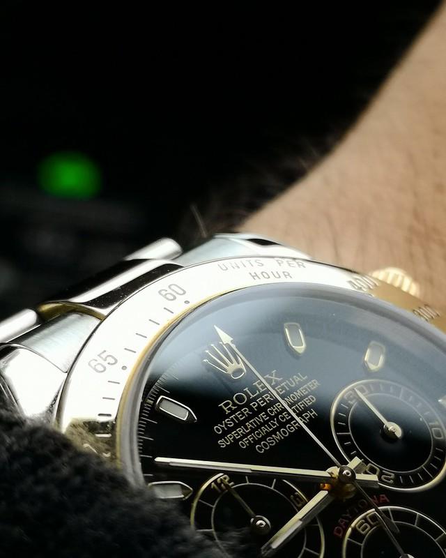 Daytona - [Vendue] Rolex Daytona 116523 cadran noir. 10500€ 44116647244_5b7e5dc46f_c