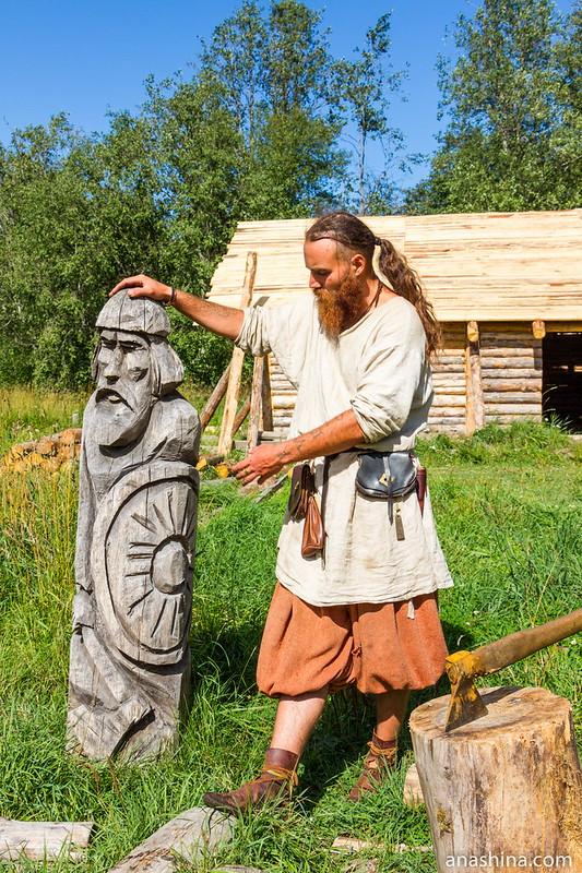 Мзей живой истории эпохи викингов Бьоркагард