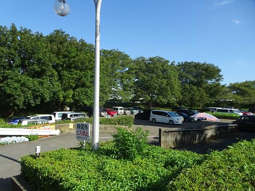 富士見ガーデンビーチ第2駐車場