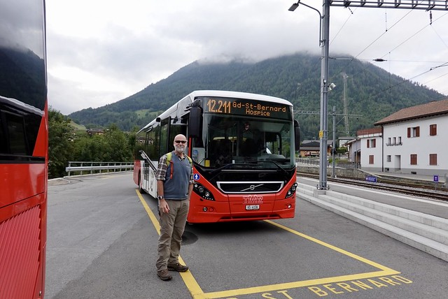 The bus to the pass