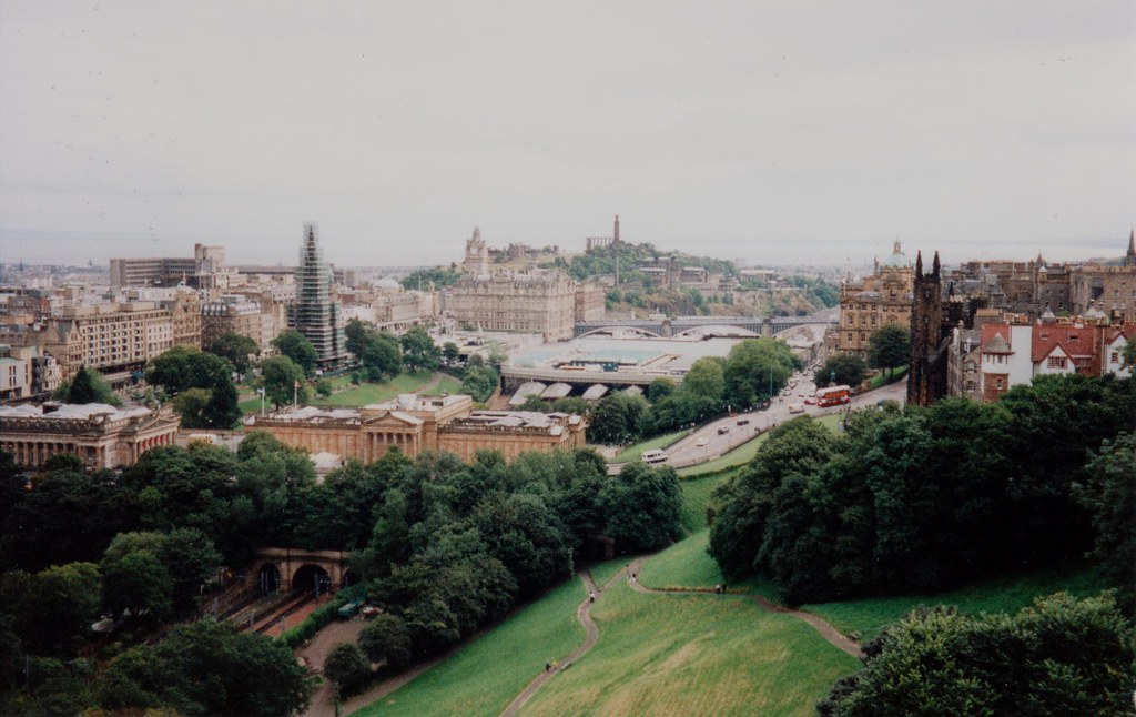 View from Edinburgh Castle, 8/9/1998