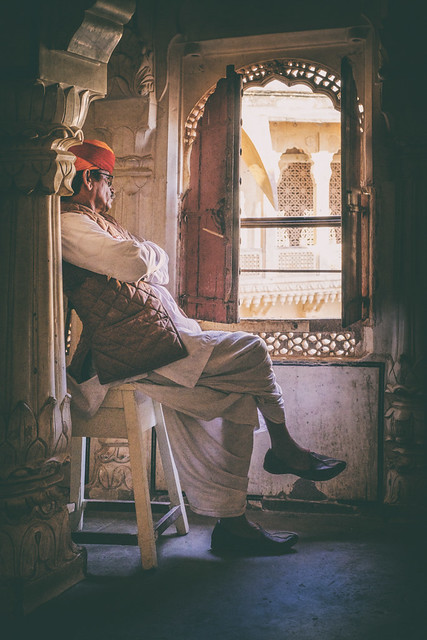 The Watchman | Mehrangarh Fort, Jodhpur, India
