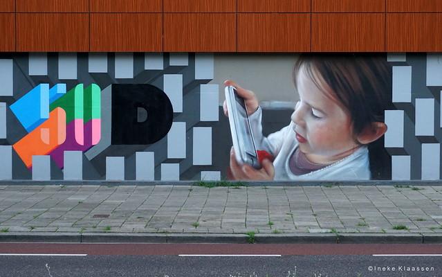 Graffiti Dukenburg Nijmegen NED