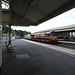DB Schenker Freight Train, Bath Spa Railway Station, Bath 5 September 2018