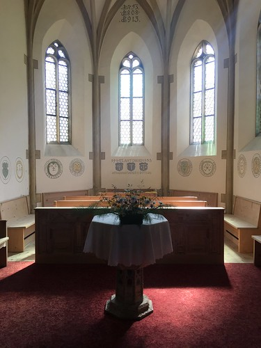 Kirche St Antönien, Innenraum