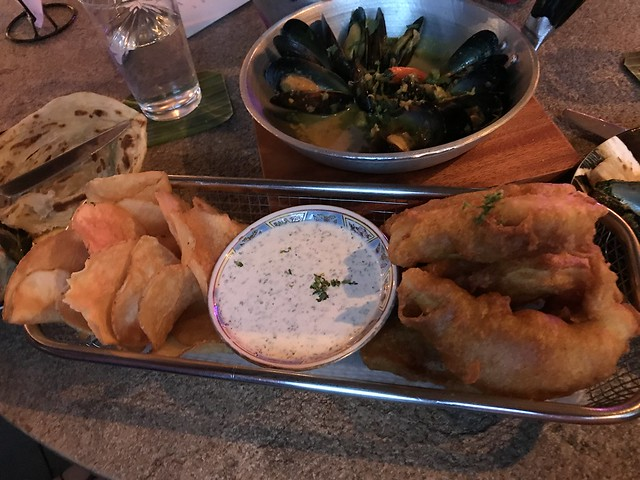 Polilya, fish and chips