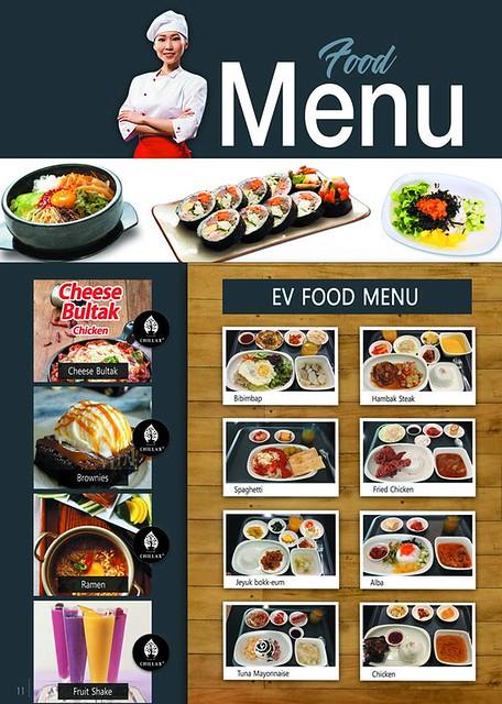 Bữa ăn hàng ngày của trường Anh ngữ EV