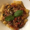 #fresh #tomatoes from @19thavenuefarmersmarket and #cremini #mushrooms #pancetta #wine #basil #homemade #Food #CucinaDelloZio -