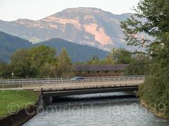 ENG600 Stanserstrasse Road Bridge over the Engelberger Aa, Buochs, Canton of Nidwalden, Switzerland