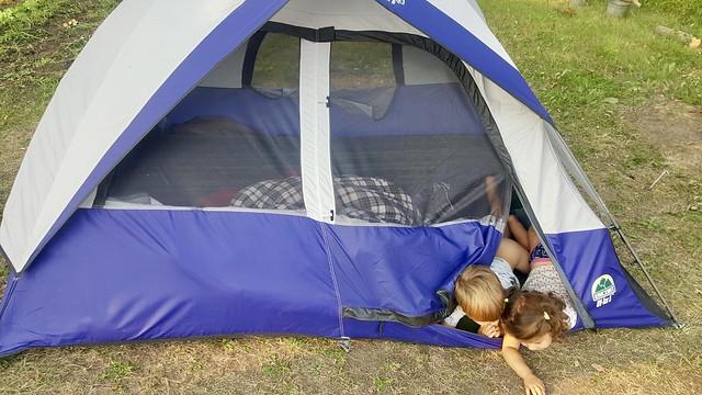 Tent Scramble