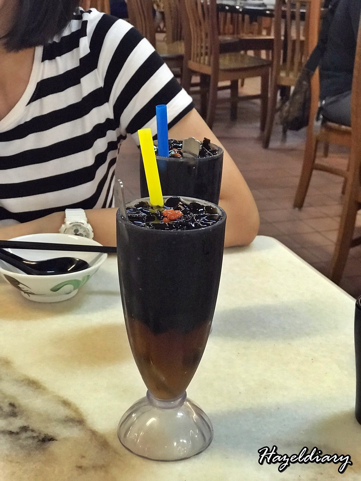 Le Chasseur-Grass Jelly Drink