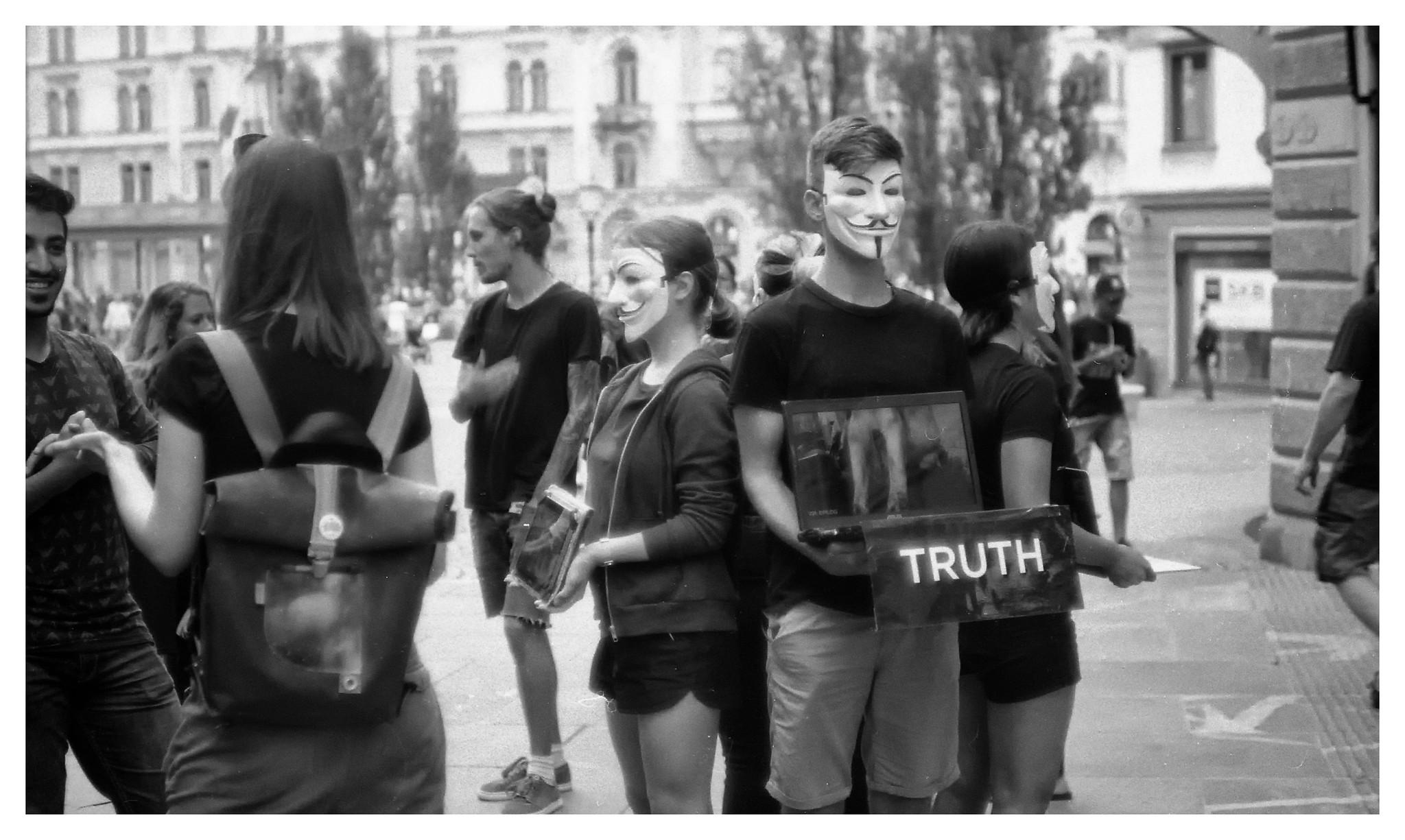 Ljublijana protest