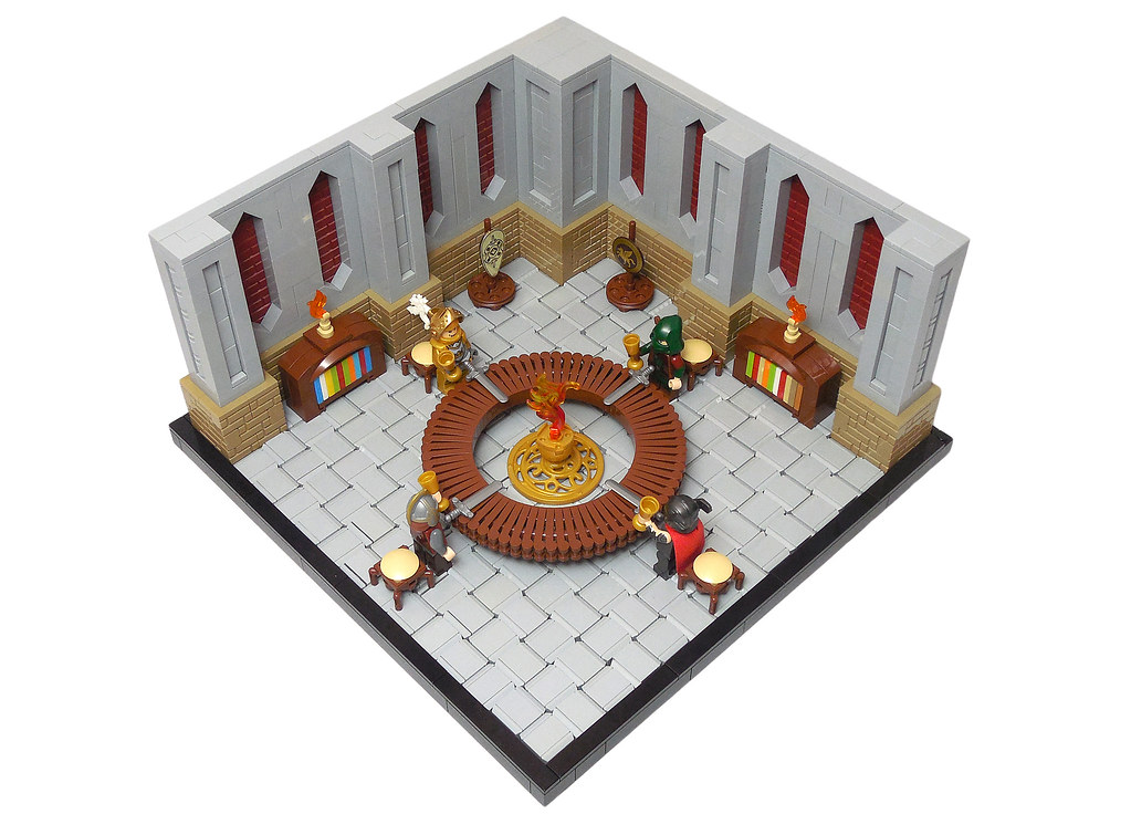 LEGO® MOC by Vitreolum: Knights of the Round Table
