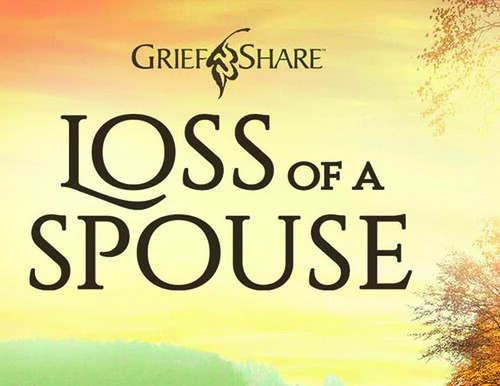 loss of a spouse postcard