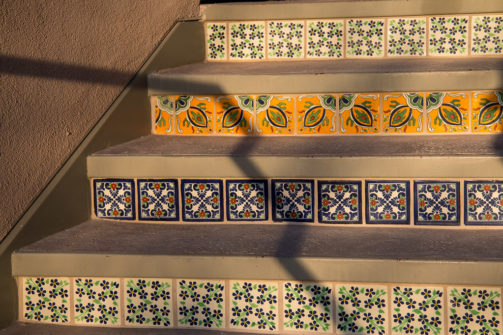 Local southwestern tiles decor