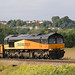 66847 General Motors Class 66 Co-Co, Colas Rail Freight, Newton Meadows, Newton St Loe, Somerset
