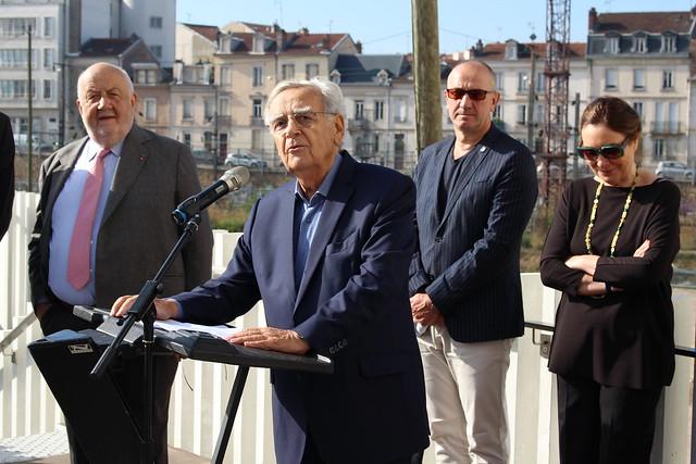 Bernard Pivot - Le Livre sur la Place de Nancy 2018