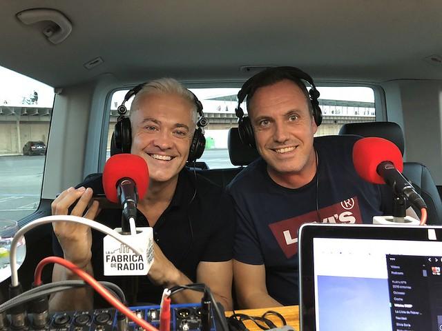 Toni Bosch y Jose Luis Flores en La Fábrica de Radio