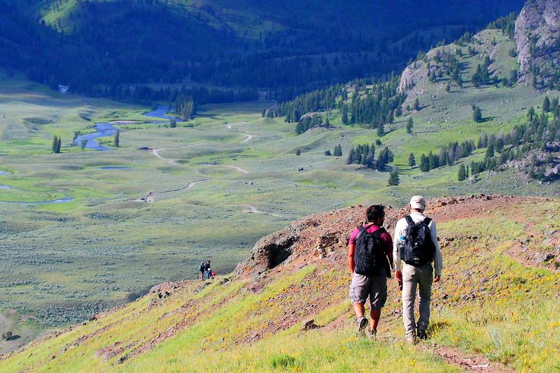 IMG_8179 Hikers on Petrified Trees Trail