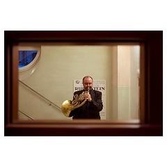 José, Barcelona . #xpro2 #fujixpro2 #fujifeed #fujifilm #fujilove #myfujilove #fujifilm_xseries #fujifilmusa #fujifilmnordic #fujifilmme #fujifilm_uk #fujixfam #twitter #geoffroyschied #35mmofmusic #spain #barcelona #palaudelamusica #jose #horn #brass #pi