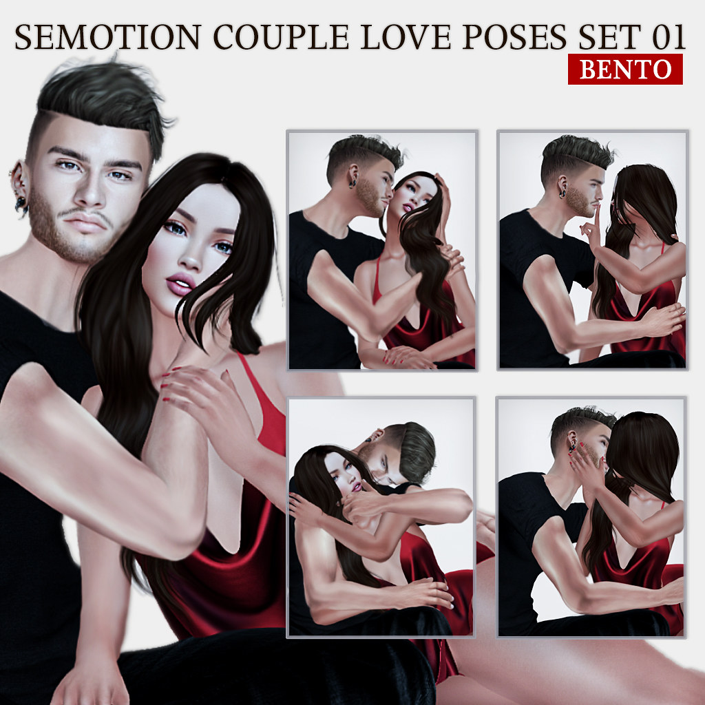 SEmotion Couple Bento Love Poses 01