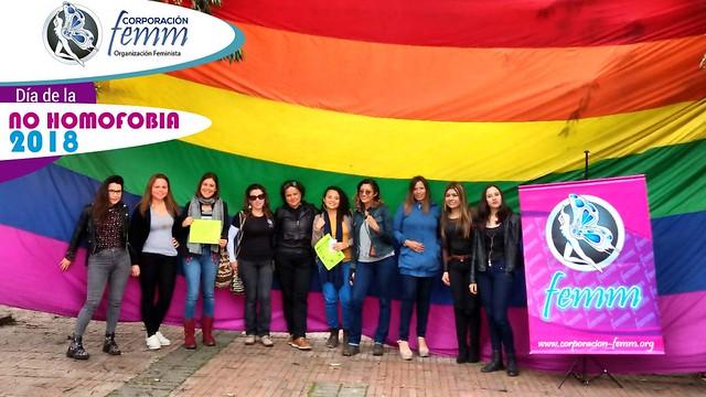 Femm el Día de la no homofobia 2018
