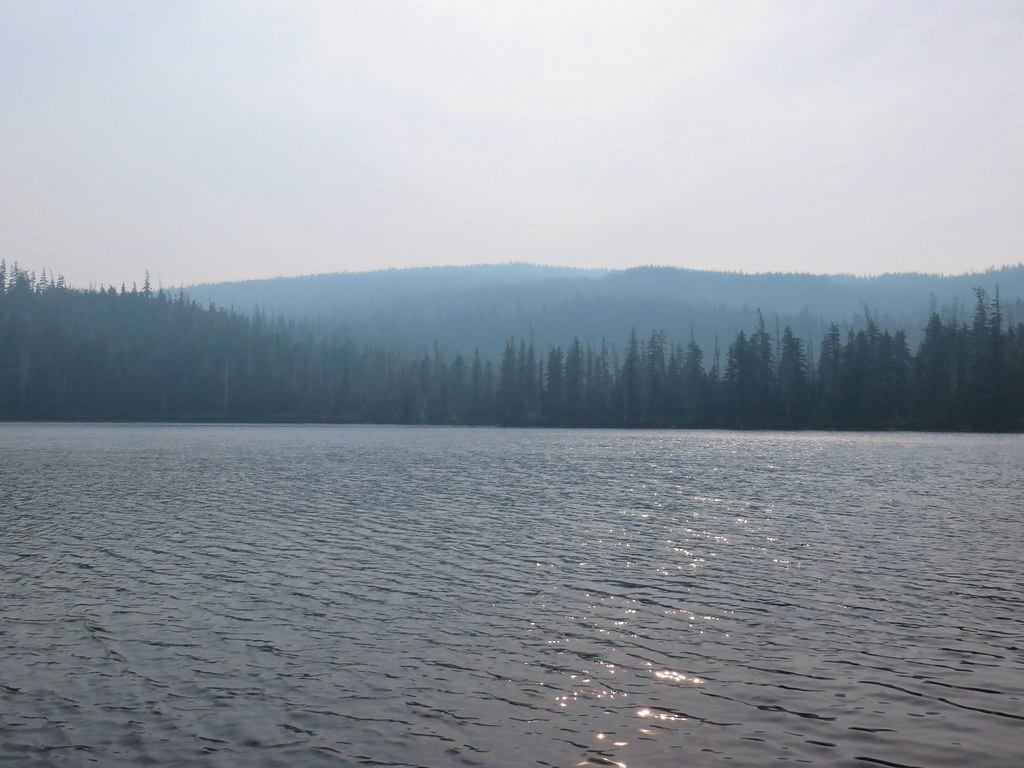 Waldo Mountain from Upper Eddeeleo Lake