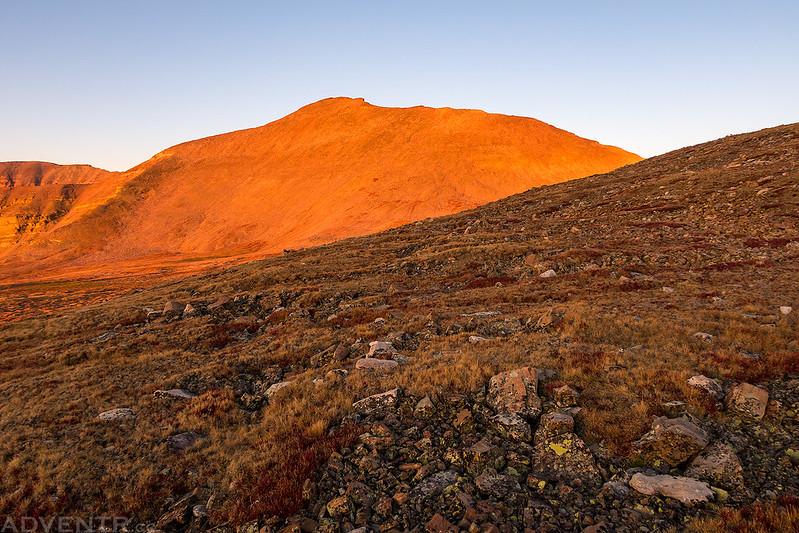 Kings Peak at Sunrise