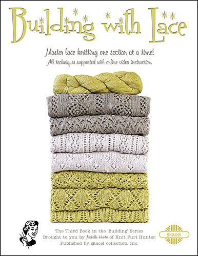 Building with Lace by Michelle Hunter Knit-Along Class - every 2 weeks. Saturdays, October 20, November 3, 17, December 1 and 15 from 1 pm to 3 pm
