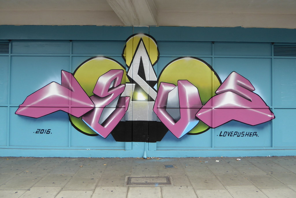 Lovepusher Graffiti Stockwell Duncan C Flickr