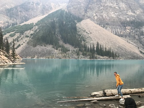 The eldest at Moraine Lake