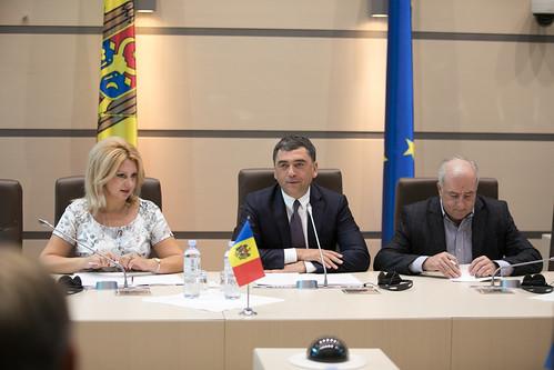 14.09.2018 Întrevedere Vladimir Vitiuc- Grupul parlamentar de prietenie Estonia-Moldova